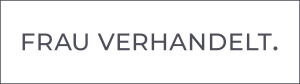 FRAU VERHANDELT Logo